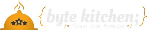 byte kitchen;